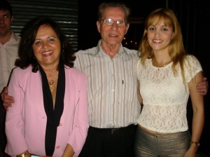 Profª Lélia Nunes, o coreógrafo Witold Idzi Zapala e a editora do Blog, Clarisse