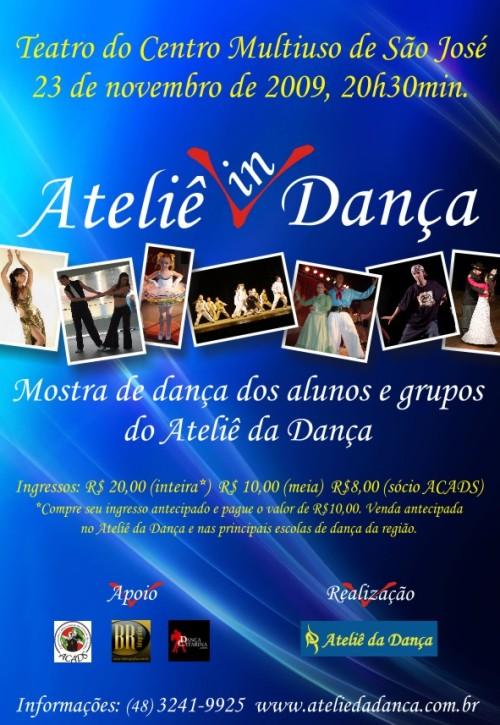 CARTAZ MOSTRA DE DANÇA 2009