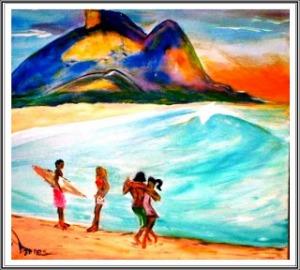 É Samba, É Surf na Barra da TijucaAndré Torres