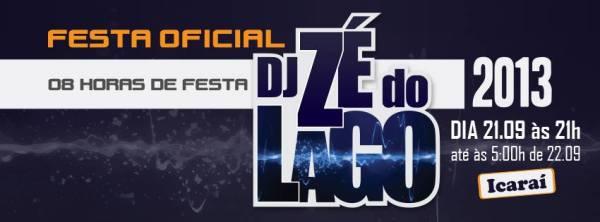Vem ai a Festa mais aguardada da dança de salão do Brasil! FESTA OFICIAL DJ ZÉ DO LAGO!