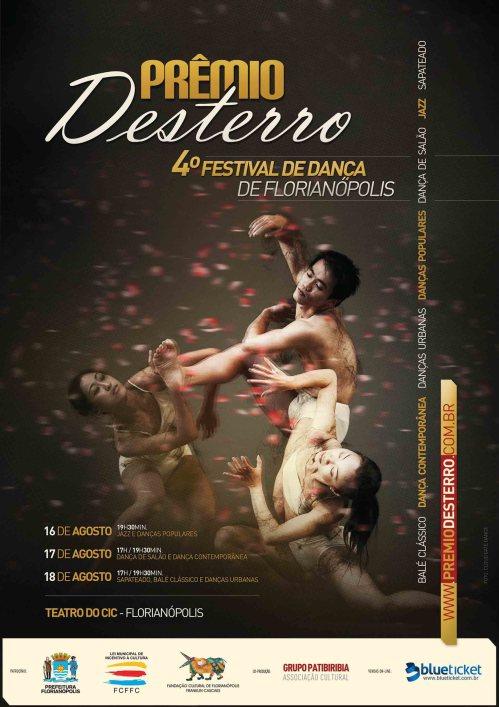 Prêmio Desterro 2013 - flyer programação
