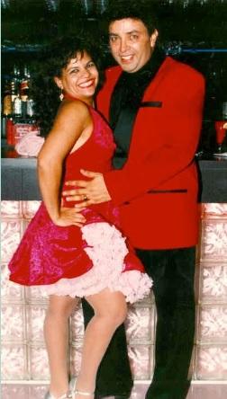 Eddie Torres e sua esposa Maria
