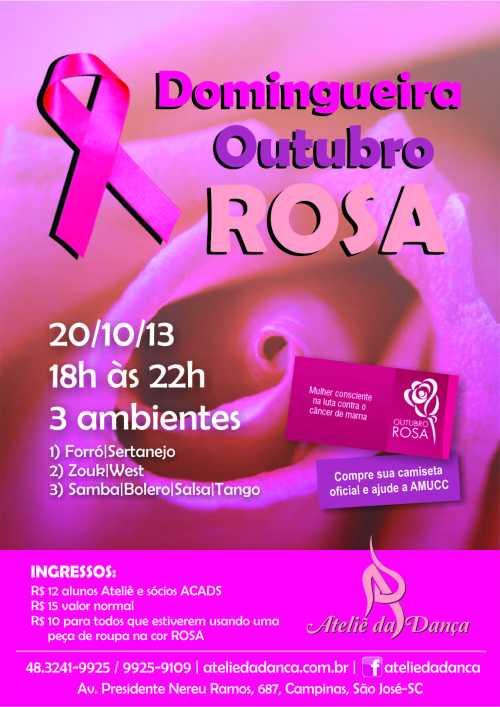 Domingueira Outubro Rosa 20