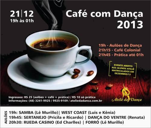 café com dança