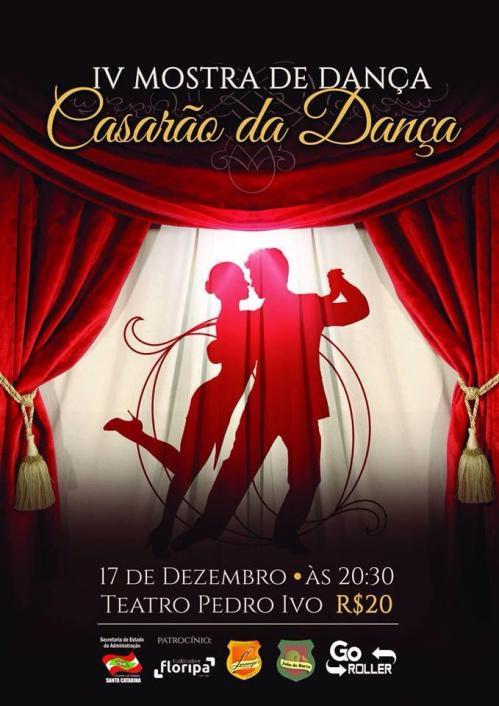 Mostra de Dança do Casarão dia 17