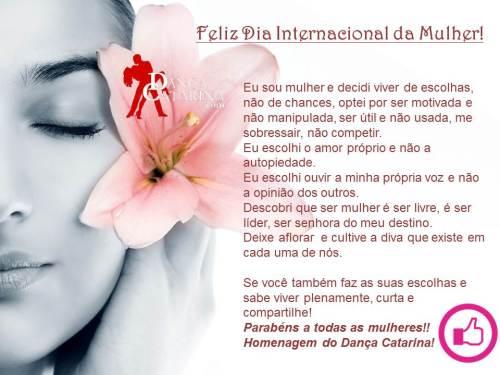 Dia Internacional da Mulher 2013