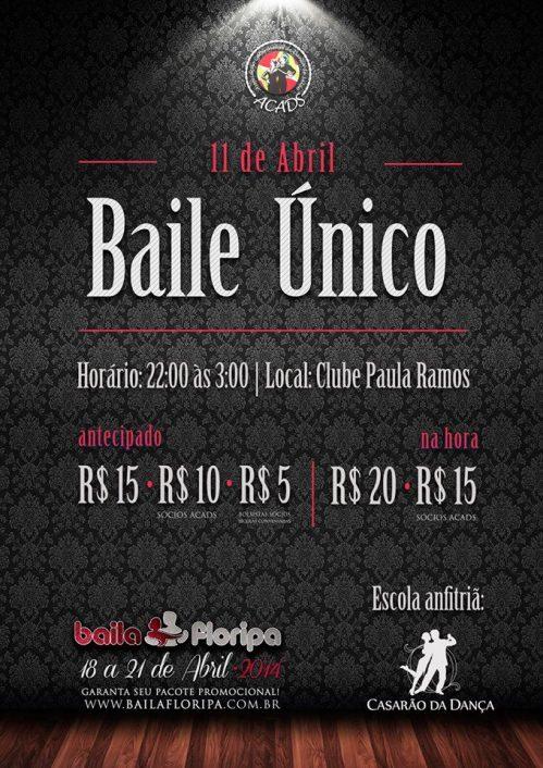 Baile ùnico dia 11 Casarão