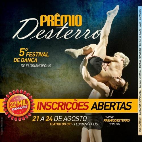 Prêmio Desterro inscrições abertas