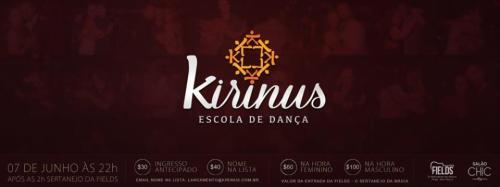 Festa de lançamento da Kirinus dia 07