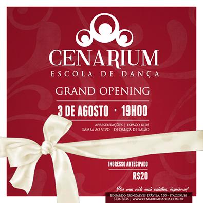 Inauguração da Cenárium dia 03
