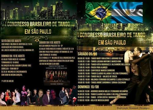 1 Congresso Brasileiro de Tango em SP 2