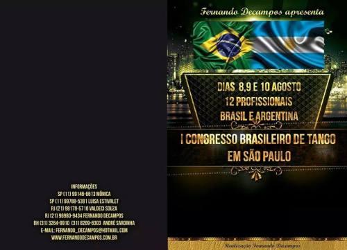 1 Congresso Brasileiro de Tango em SP