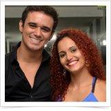 Monica Batista e Diego Fiori