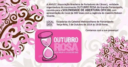 cONVITE ABERTURA OUTUBRO ROSA
