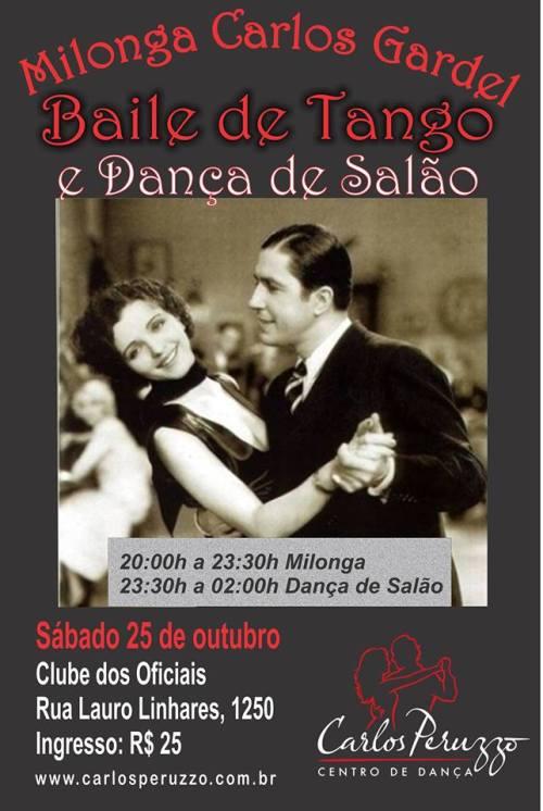 Milonga Carlos Gardel dia 25